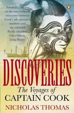 cover image of Discoveries; The Voyages of Captain Cook