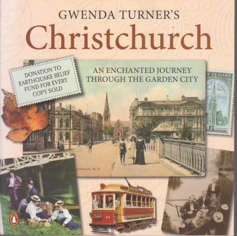 cover image of Gwenda Turner's Christchurch, for sale in New Zealand