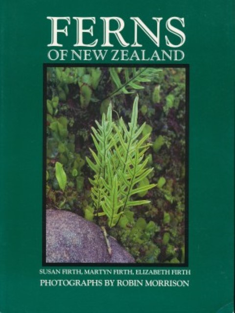 cover image of Ferns of New Zealand by Firth