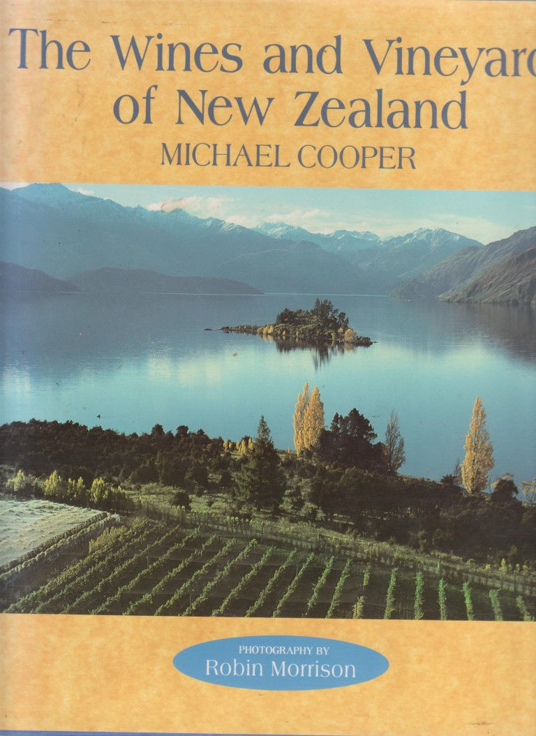 cover image of The wines and vineyards of New Zealand for sale in New Zealand