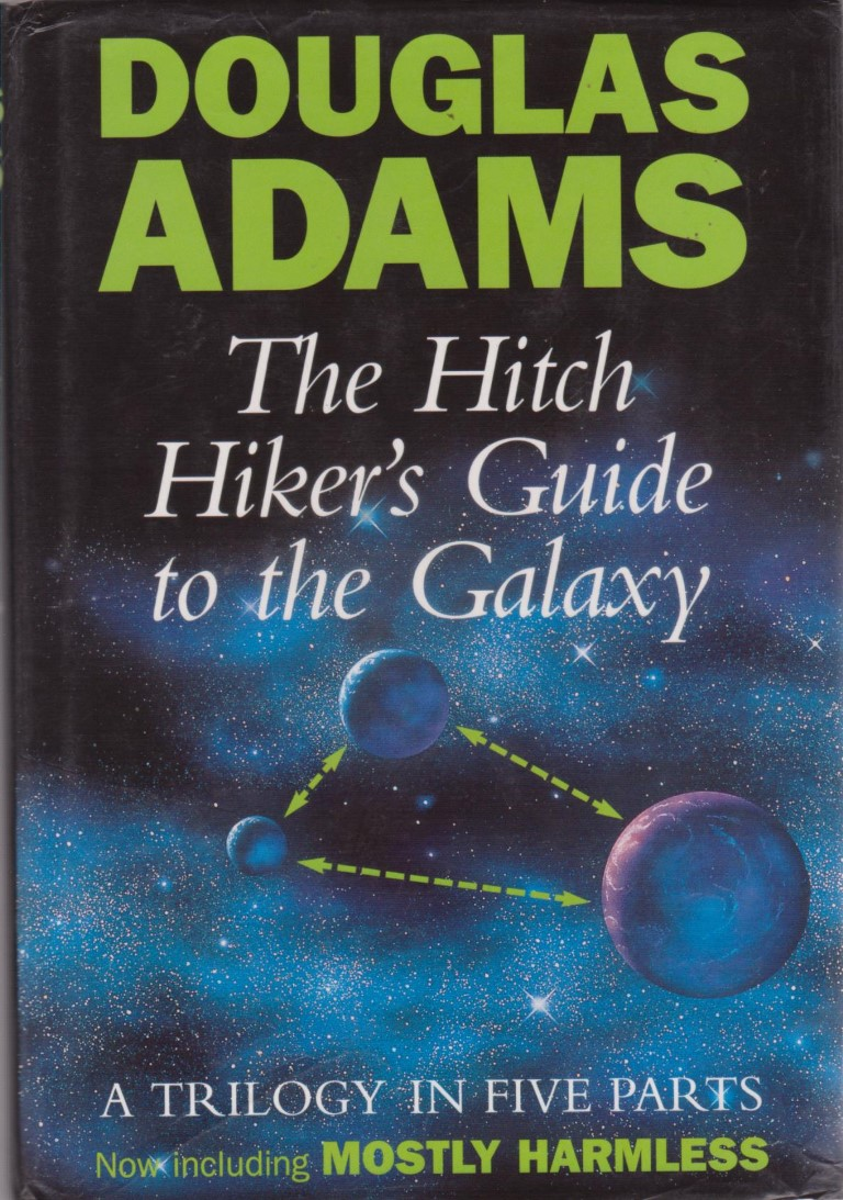 cover image of The Hitch Hiker's Guide to the Galaxy, A Trilogy in Five Parts. for sale in New Zealand