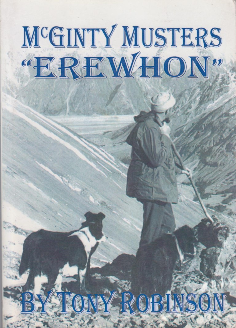 cover image of McGinty Musters Erewhon, for sale in New Zealand