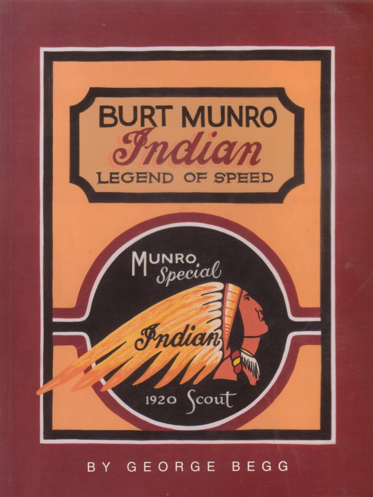 cover image of Burt Munro Indian Legend of Speed for sale in New Zealand
