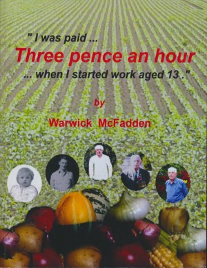 cover image of Warwick McFadden's autobiography