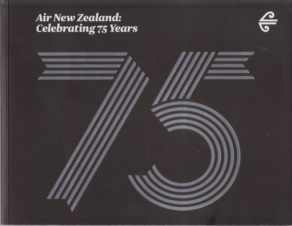 cover image of Air New Zealand: Celebrating 75 Years, for sale in New Zealand
