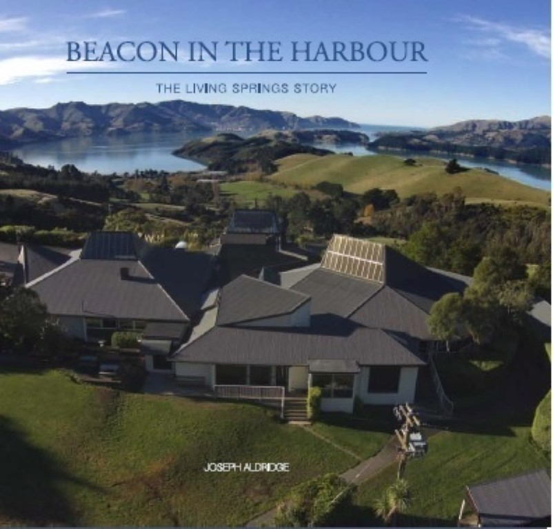cover image of Beacon in the Harbour: The Living Springs Story, for sale in New Zealand