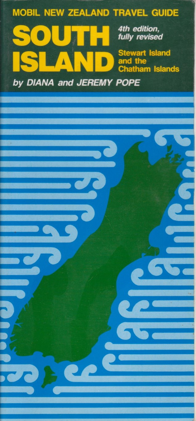 cover image of Mobil New Zealand Travel Guide,South Island, Stewart Island and the Chatham Islands