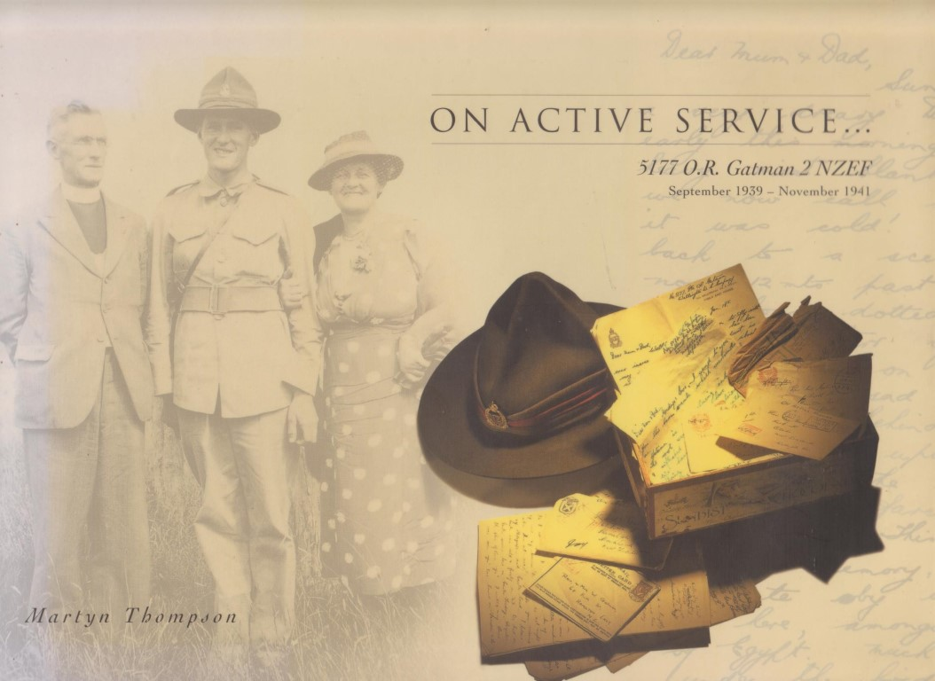cover image of On Active Service, 5177 O. R. Gatman 2 NZEF for sale in New Zealand