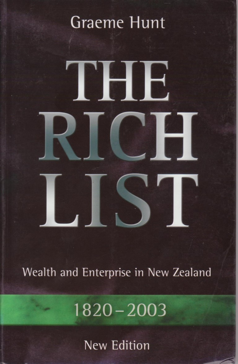 cover image of The Rich List 1820-2003, for sale in New Zealand