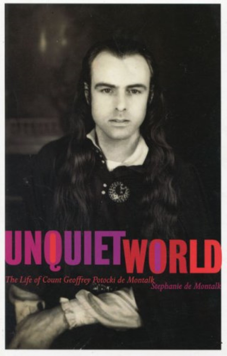 cover image of Unquiet World: The Life of Count Geoffrey Potocki de Montalk, for sale in New Zealand