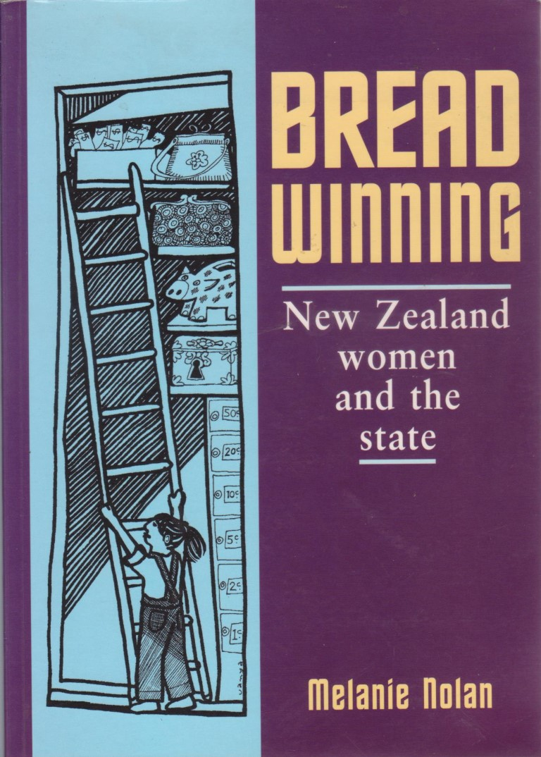 cover image of Breadwinning: New Zealand Women and the State by Melanie Nolan for sale in New Zealand