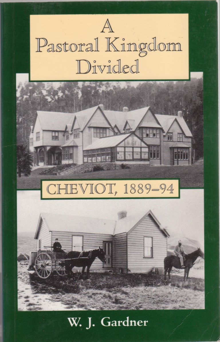 cover image of  A Pastoral Kingdom Divided, Cheviot 1889-94 for sale in New Zealand