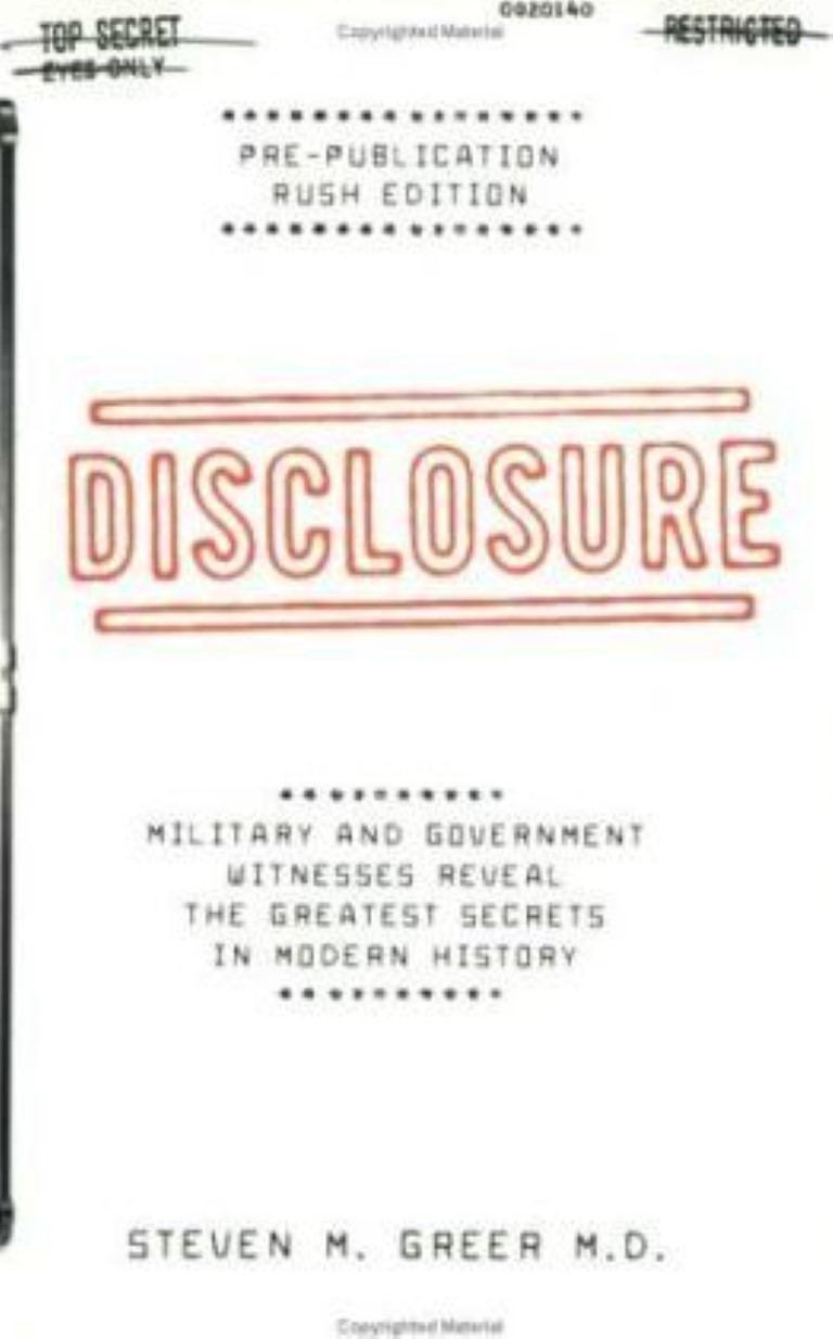 cover image of Disclosure: Military and Government Witnesses Reveal the Greatest Secrets in Modern History for sale in New Zealand