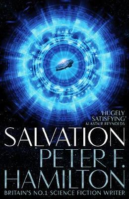 cover image of Salvation by peter F Hamilton, for sale in New Zealand