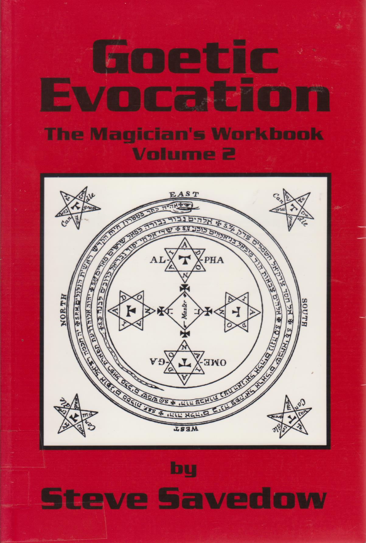cover image of Goetic Evocation, The Magician's Workbook Volume 2 for sale in New Zealand