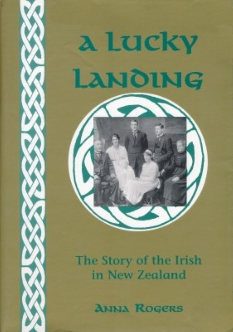 cover image of A Lucky Landing, The Story of the Irish in New Zealand for sale in New Zealand