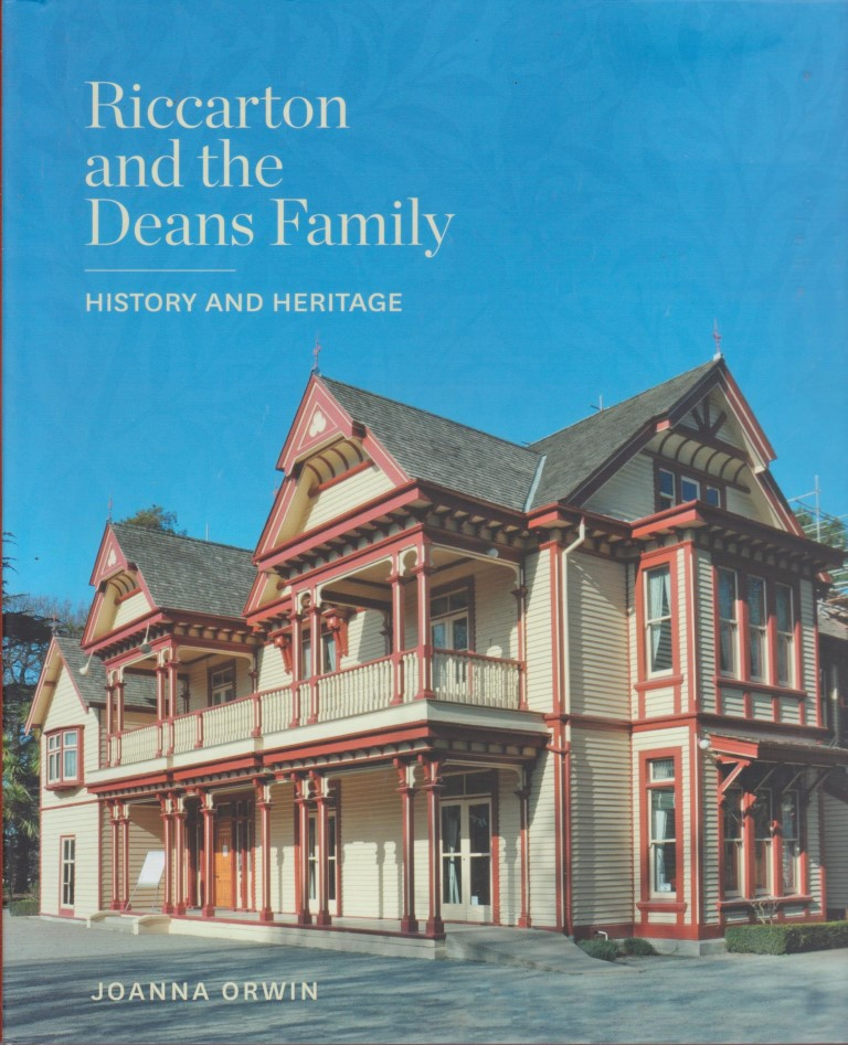 cover image of Riccarton and the Deans family : history and heritage, for sale in New Zealand