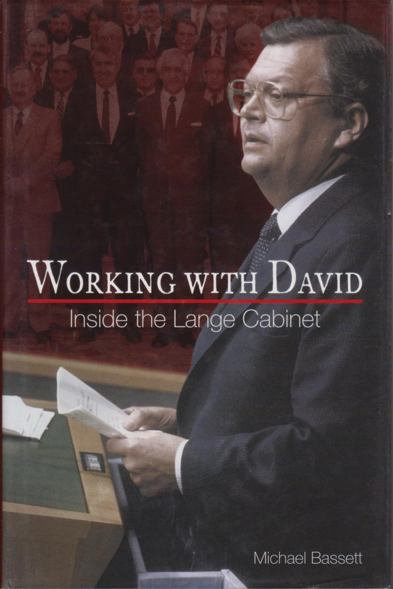 cover image of Working with David: Inside the Lange Cabinet, for sale in New Zealand