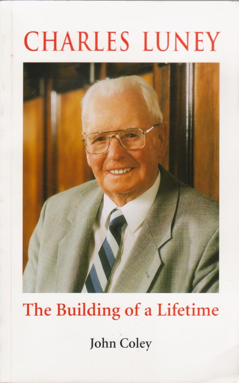 cover image of Charles Luney, The Building of a Lifetime