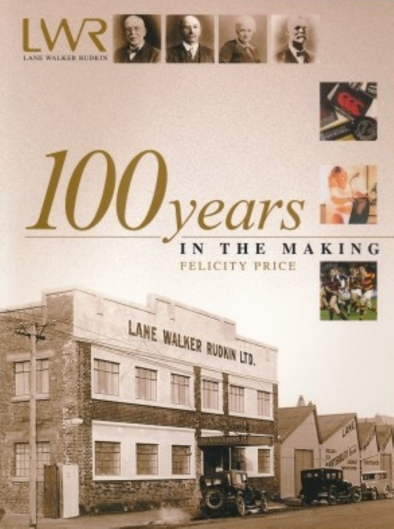 cover image of Lane Walker Rudkin: 100 Years in the Making for sale in New Zealand