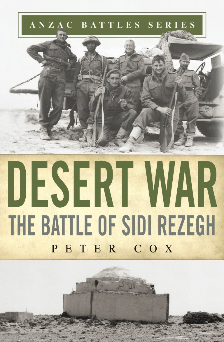 cover image of Desert War : The Battle of Sidi Rezegh for sale in New Zealand