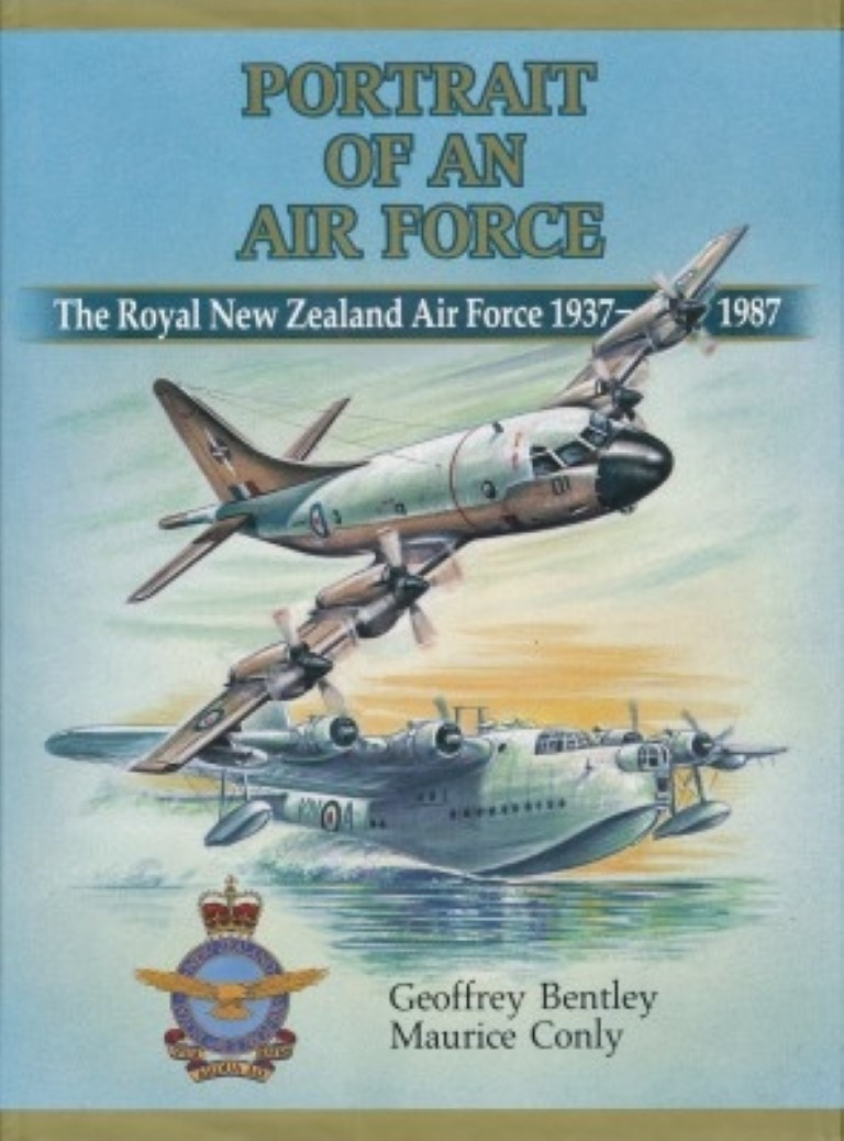 cover image of Portrait of an Air Force, The Royal New Zealand Air Force 1937-1987 for sale in New Zealand