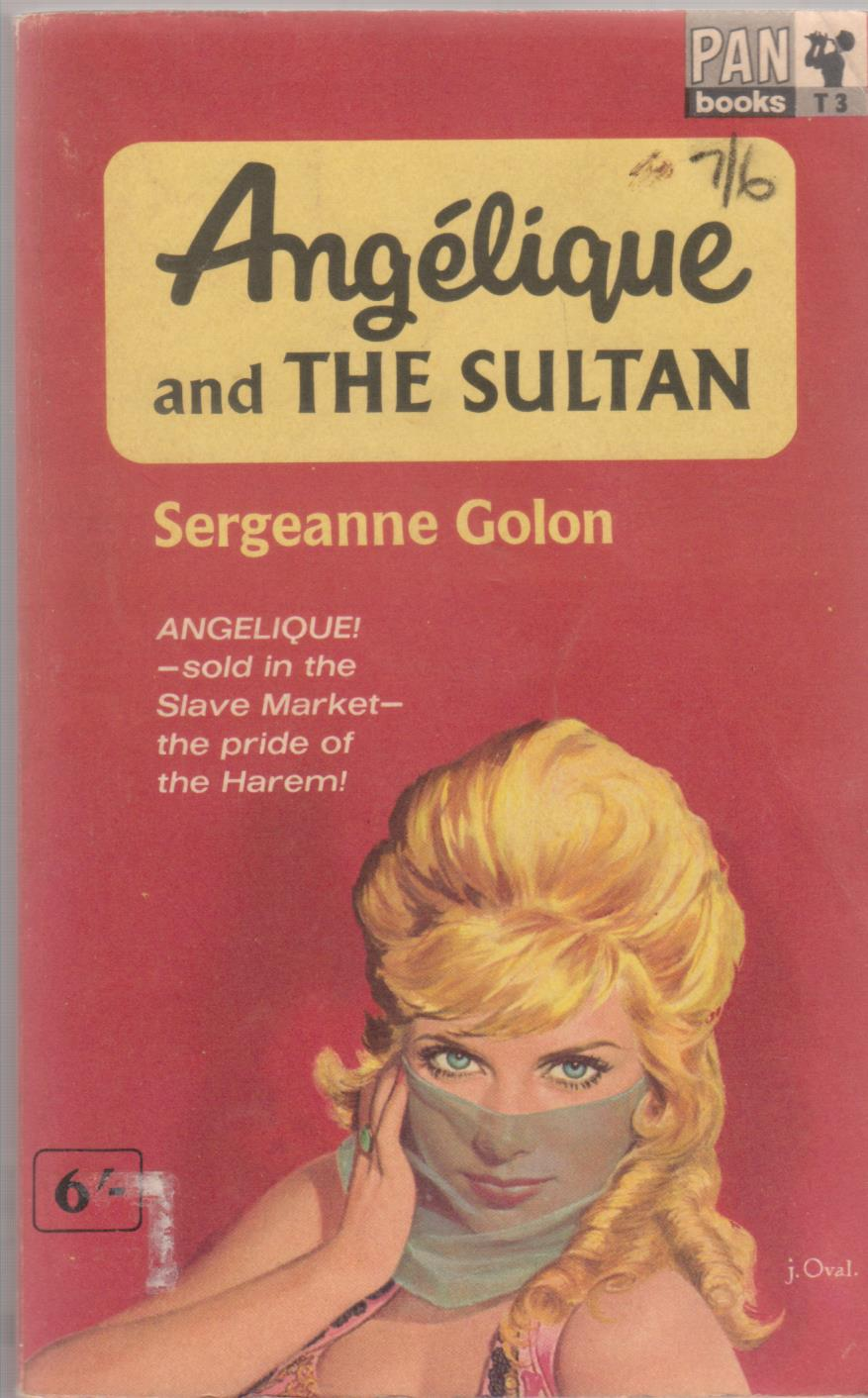 cover image of Angelique and the Sultan for sale in New Zealand