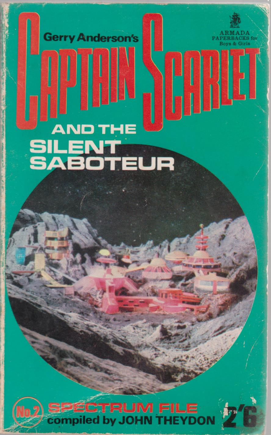 cover image of Captain Scarlet and the Silent Saboteur by Gerry Anderson for sale in New Zealand