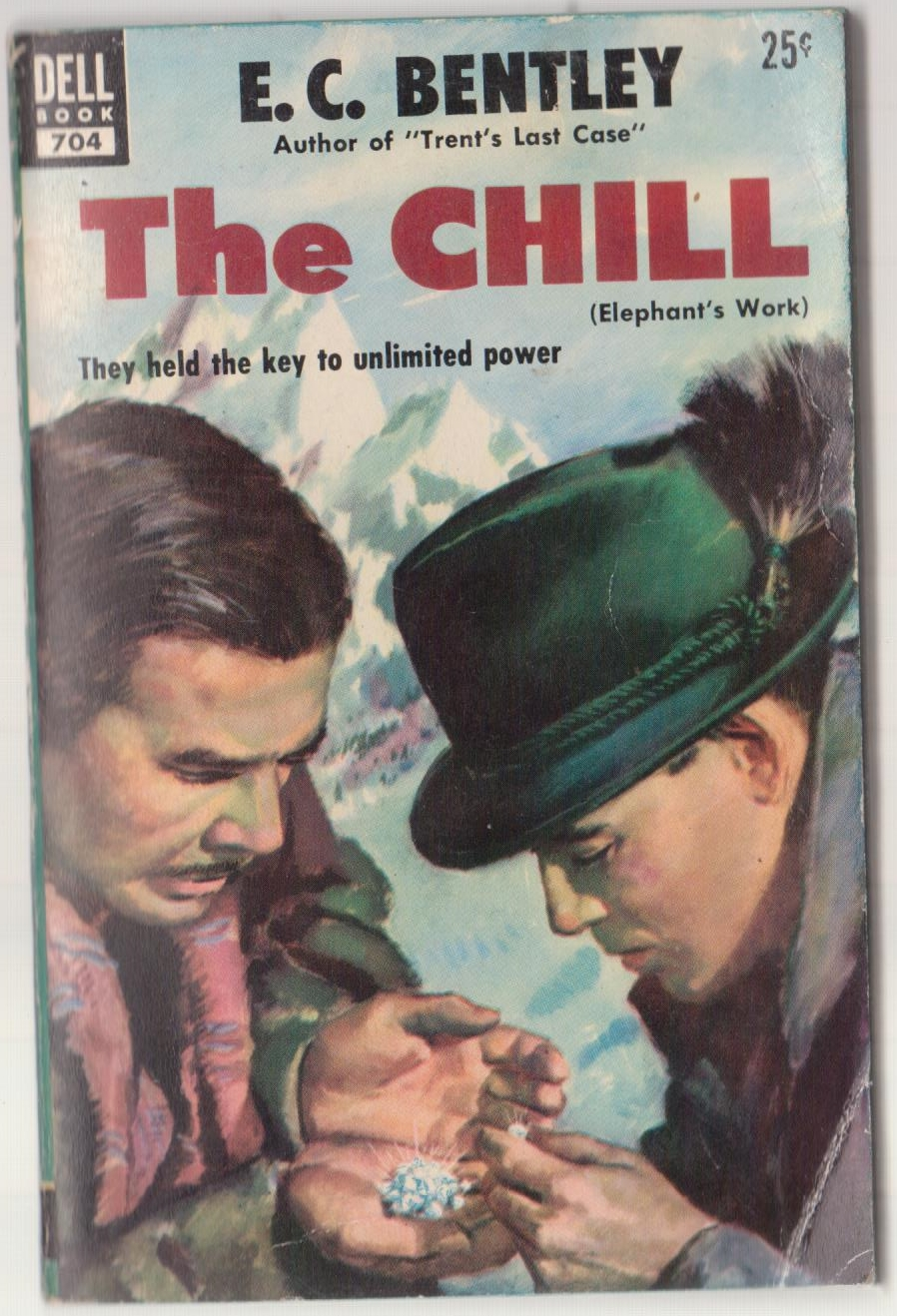 cover image of The Chill by E C Bentley Dell 704 for sale in New Zealand