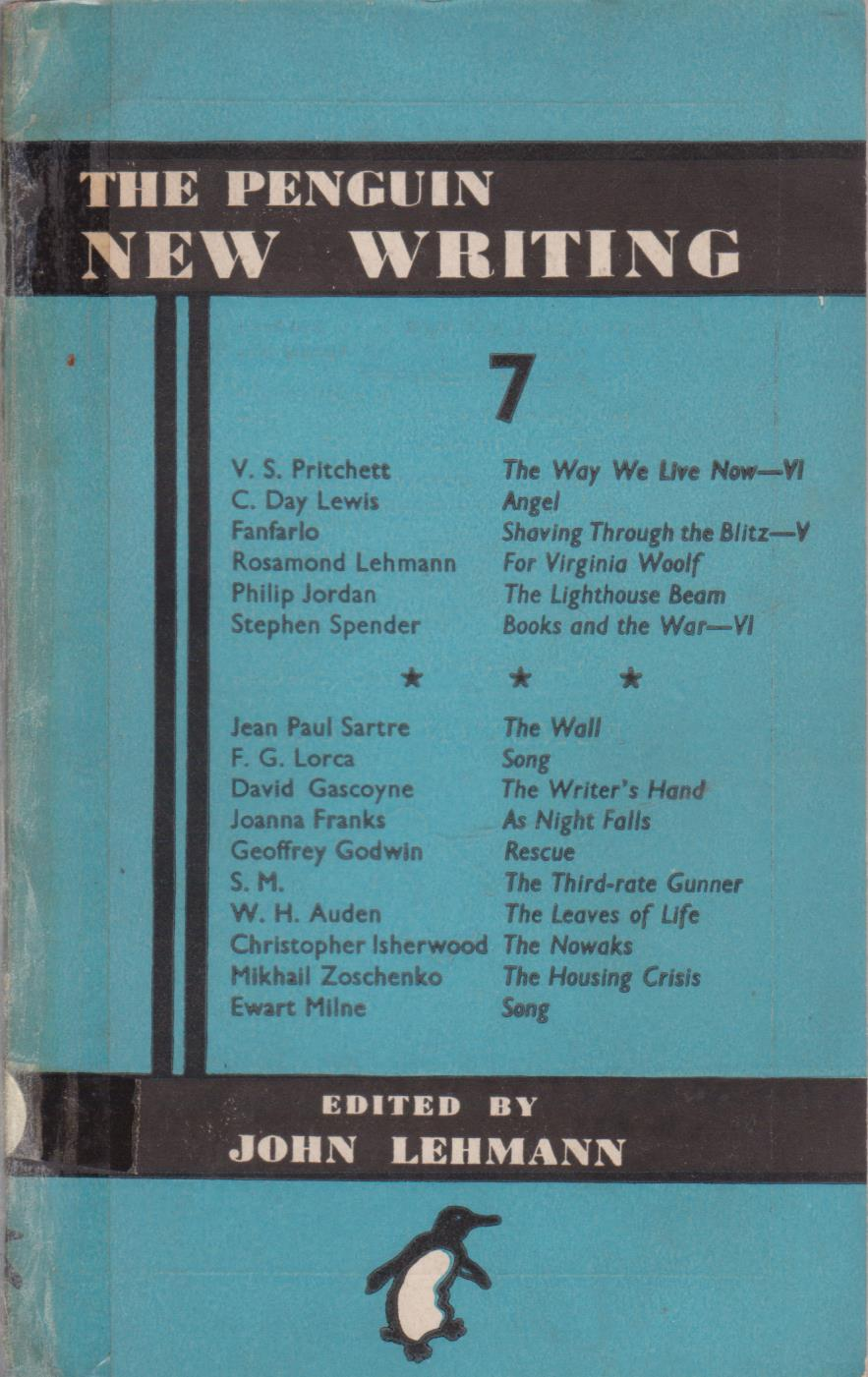 cover image of The Penguin New Writing 7 for sale in New Zealand