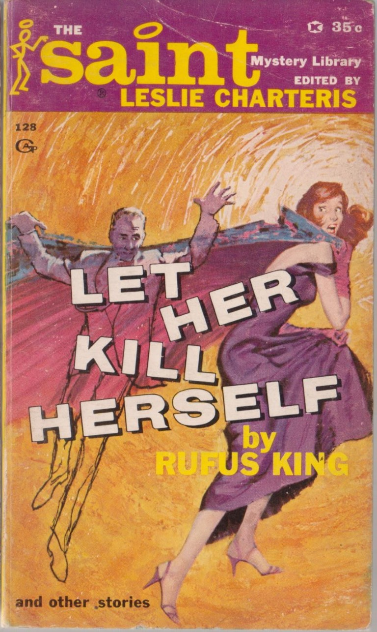 cover image of Let Her Kill Herself; The Saint Mystery Library Number 11.  for sale in New Zealand
