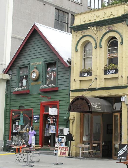 Fortuna Books, formerly housed in Olympia Building, part of Shand's Emporium, 88 Hereford Street, Christchurch